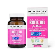 Dr. Mercola 女性のための南極オキアミ油 90カプセル