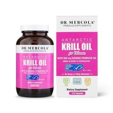 Dr. Mercola Antarctic Krill Oil for Women 270 Capsules