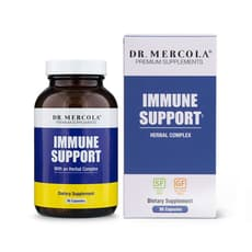 Dr. Mercola Immune Support with an Herbal Complex 90 Capsules