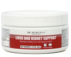 Dr. Mercola Liver and Kidney Support for Pets 1.37 oz