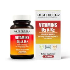 ドクターメルコラ ビタミンD3 & K2 30粒入り