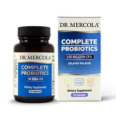 Dr. Mercola Complete Probiotics 100 Billion CFU 30 Capsules