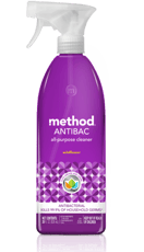 Method アンティバック泊多目的洗浄剤 ワイルドフラワー 828 ml