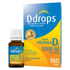 Ddrops 液体 ビタミンD3 1000 IU  5 ml