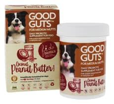 Fidobiotics グット ガッツ フォー ミディアム マッツ ココナッツピーナッツバター味 30日分 (犬用)