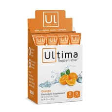 Ultima Health Products Ultima Replenisher Electrolyte Powder Orange 20 Packets