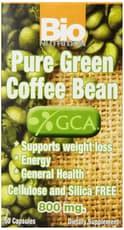 Bio Nutrition ピュア グリーンコーヒー豆 800mg 50カプセル