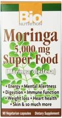 Bio Nutrition モリンガ 5000mg スーパーフード 90ベジカプセル