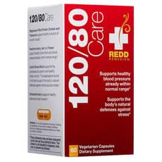 Redd Remedies 120/80 Care  60 Veg Capsules