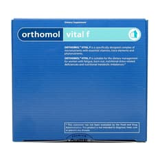 Orthomol 女性用 オーソモール バイタルF (錠剤 & カプセル) 30日分