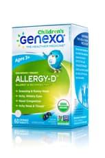 GENEXA 子供用 アレルギーD 60チュアブル錠