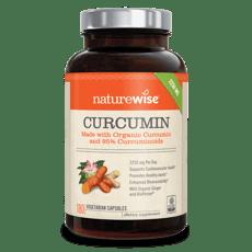 Naturewise Curcumin 180 Veg Capsules