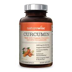 Naturewise Curcumin 2,250 mg 90 Veg Capsules
