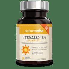 Naturewise Vitamin D3 5,000 IU 90 Softgels