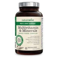 Naturewise Mens Multivitamin & Mineral With Joint Support 60 Capsules