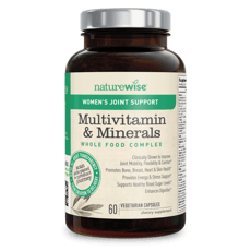 Naturewise Womens Multivitamin & Mineral With Joint Support 60 Capsules