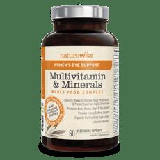 ネイチャーワイズ 女性のマルチビタミン&ミネラル アイ・サポート 60カプセル