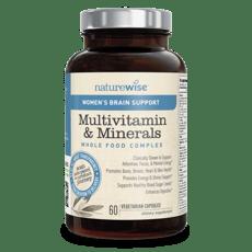 ネイチャーワイズ 女性のマルチビタミン&ミネラル ブレイン・サポート 60カプセル
