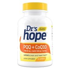 Dr\'s Hope PQQ + CoQ10 (コエンザイム Q10) 60カプセル
