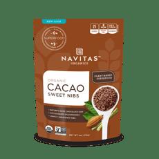 Navitas Naturals オーガニック スイートローチョコニブ カカオスイートニブ 4オンス