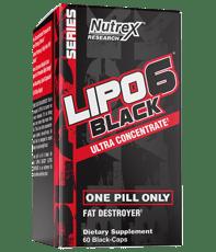 Nutrex Research LIPO 6 ブラック UC 60カプセル