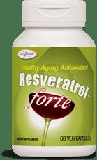 Enzymatic Therapy レスベラトロール フォルテ 125 mg 60ベジカプセル