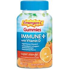 Emergen-C イミューンプラスウィズビタミンD スーパーオレンジ 45粒