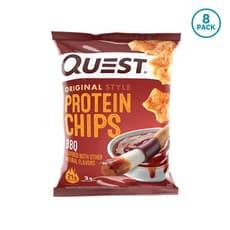 Quest Nutrition  プロテインチップスバーベキュー(8個パック)8個入