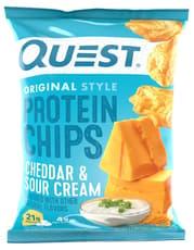 Quest Nutrition プロテインチップチェダー&サワークリーム 32 g