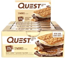 Quest Nutrition クエストバープロテインバー スモア味 12個入り