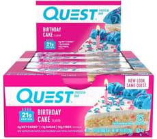 Quest Nutrition クエストバー プロテインバー バースデーケーキ 12個入り