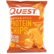 Quest Nutrition トルティーヤスタイルプロテインチップスナチョチーズ 32 g