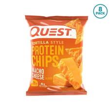 Quest Nutrition トルティーヤスタイルプロテインチップスナチョチーズ (8個入り)