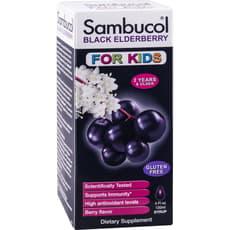 Sambucol 子供用シロップ ブラックエルダーベリー120 ml