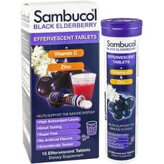 Sambucol ブラックエルダーベリー発泡型 15タブレット
