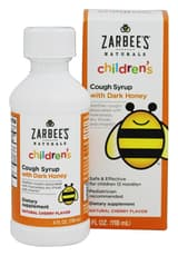 Zarbee\'s Childrens Cough Syrup Cherry 4 fl oz