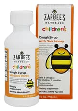 Zarbee's Childrens Cough Syrup Grape 4 fl oz