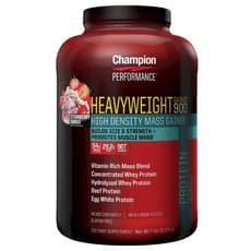 Champion Nutrition ヘビーウェイトゲイナー 900 ストロベリーサンデー 3.1 kg