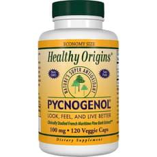 Healthy Origins ピクノジェノール 100 mg 120 ベジカプセル