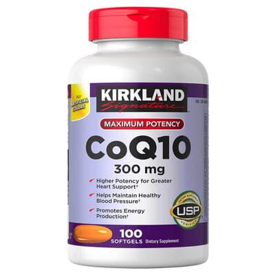 Kirkland Signature コエンザイムQ10 300 mg 100 ソフトジェル
