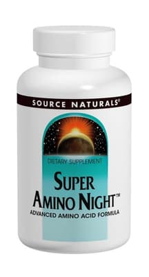 Source Naturals スーパーアミノ ナイト 120カプセル