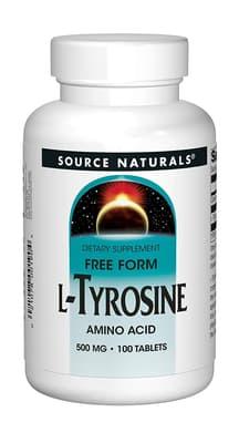 Source Naturals L-チロシン 500 mg 100 錠