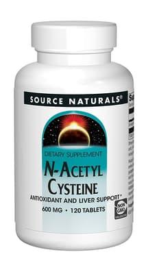 Source Naturals N-アセチルシステイン 600 mg 120錠