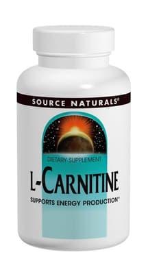 Source Naturals  L-カルニチン 500 mg 120 カプセル