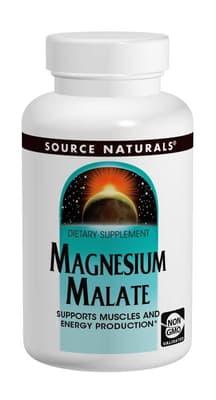 Source Naturals リンゴ酸マグネシウム 625 mg 200 カプセル
