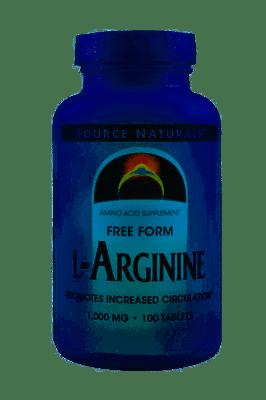 Source Naturals L-アルギニン 1,000 mg 100錠