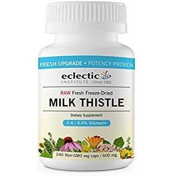 Eclectic Institute ミルク アザミ 600 mg 240ベジカプセル