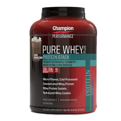 Champion Nutrition ピュアホエイプラスプロテイン ココアモカチーノ 2.2 kg