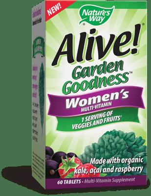 Nature's Way アライブ!ガーデングッドネス女性用60錠