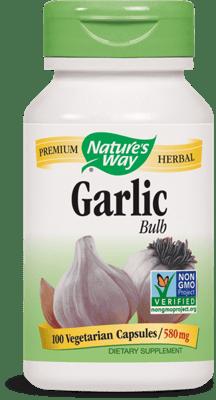 Nature's Way ガーリック 球(バルブ) 100ベジカプセル